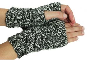 kit mitaines à tricoter